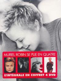 Cover Muriel Robin - Se plie en quatre - L'intégrale [DVD]